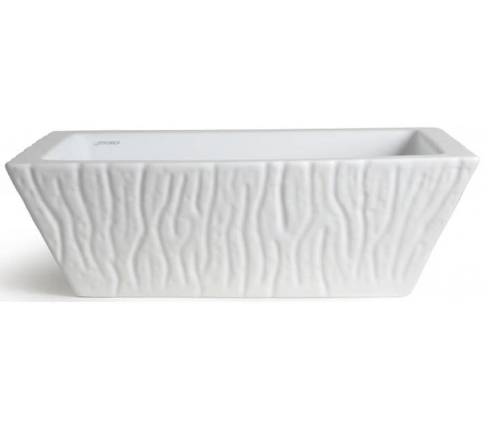 Image of   Pietra håndvask i keramik 59,5 x 39,5 cm - Hvid