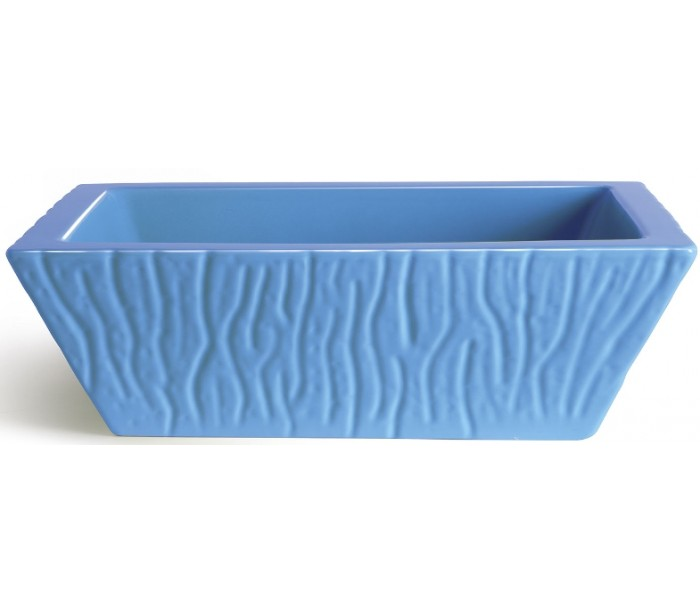 selected by lepong – Pietra håndvask i keramik 59,5 x 39,5 cm - cyan på lepong.dk