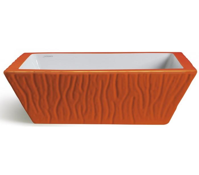 endon lighting – Pietra håndvask i keramik 59,5 x 39,5 cm - orange fra lepong.dk