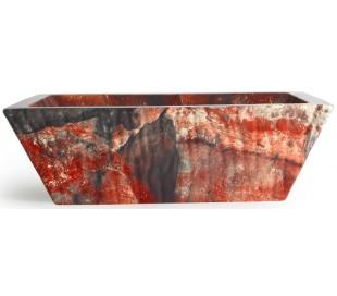 Pietra håndvask i keramik 59,5 x 39,5 cm - Lava marmor