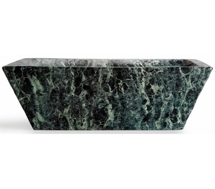 tikamoon – Pietra håndvask i keramik 59,5 x 39,5 cm - grøn marmor fra lepong.dk