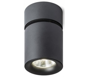 CONDU kipbar Påbygningsspot LED 20W - Sort