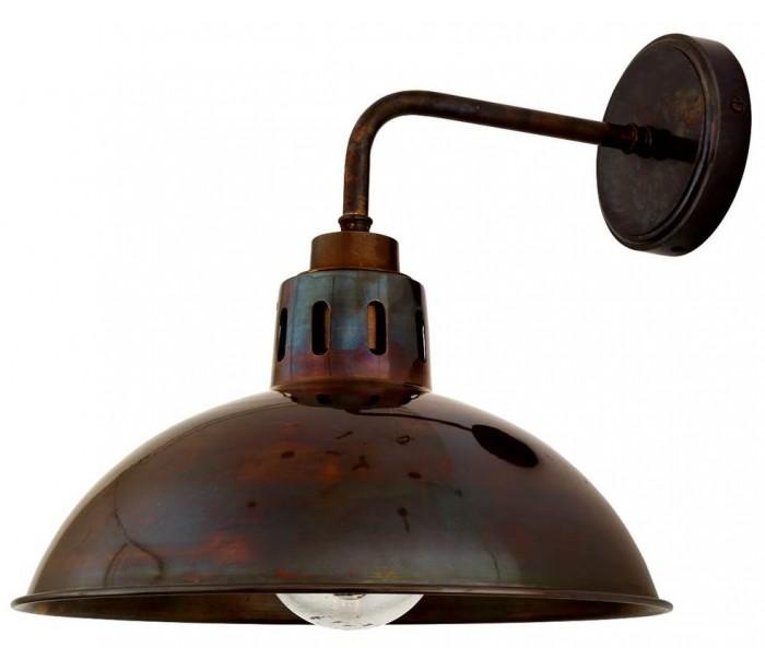 mullan lighting Talise badeværelseslampe 32 x 30 cm 1 x e27 ip65 - antik messing på lepong.dk
