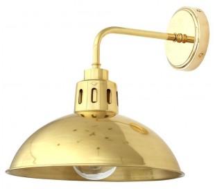 Talise Badeværelseslampe 32 x 30 cm 1 x E27 IP65 - Poleret messing