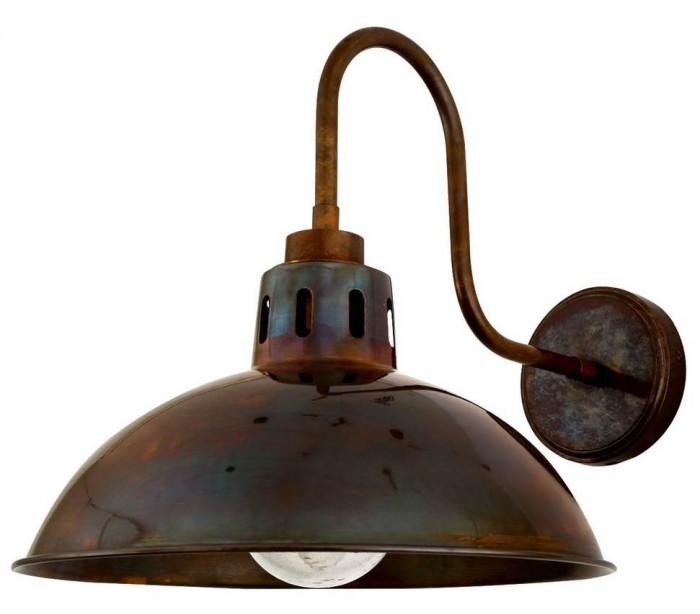 mullan lighting Talise badeværelseslampe 32,5 x 30 cm 1 x e27 ip65 - antik messing på lepong.dk