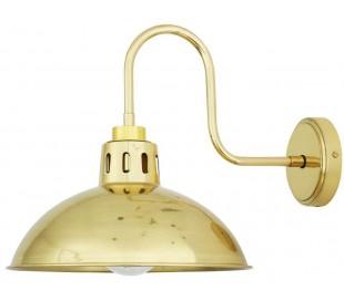 Talise Badeværelseslampe 32,5 x 30 cm 1 x E27 IP65 - Poleret messing