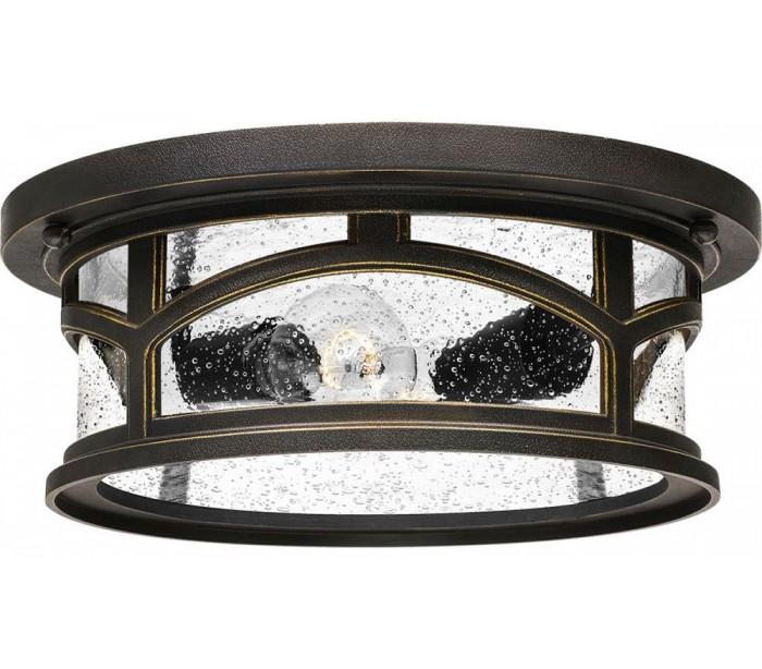 Image of   Marblehead Loftslampe Ø33 cm 2 x E27 - Rustik bronze