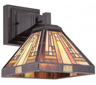 Stephen Tiffany væglampe til 1 x E27 lyskilde H25,4 cm