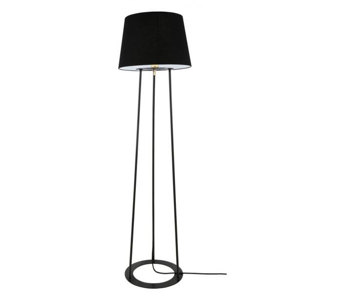 Image of   Borris Gulvlampe H146 cm 1 x E27 - Sort/Sort