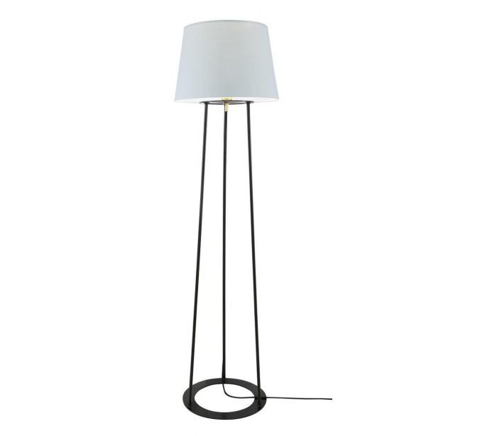 Image of   Borris Gulvlampe H146 cm 1 x E27 - Sort/Grå