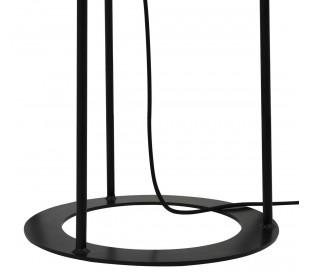 Borris Gulvlampe H146 cm 1 x E27 - Sort/Hvid