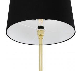 Inch Gulvlampe H148 cm 1 x E27 - Sort/Messing