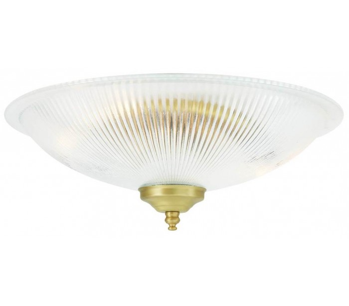 Image of   Nicosa Plafond Ø30 cm 2 x E14 - Satineret messing
