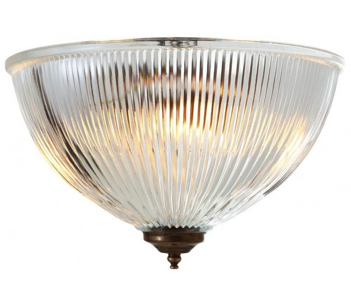 Image of   Moroni Plafond Ø30 cm 2 x E27 - Antik messing