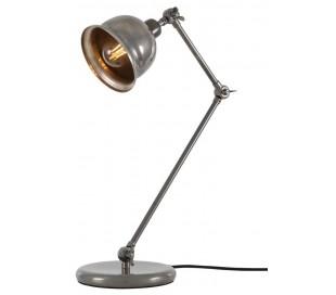 Dale Bordlampe H45 - 65 cm 1 x E27 - Antik sølv
