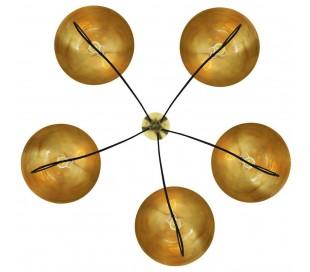 Alegre lysekrone Ø140 cm 5 x E27 - Poleret messing