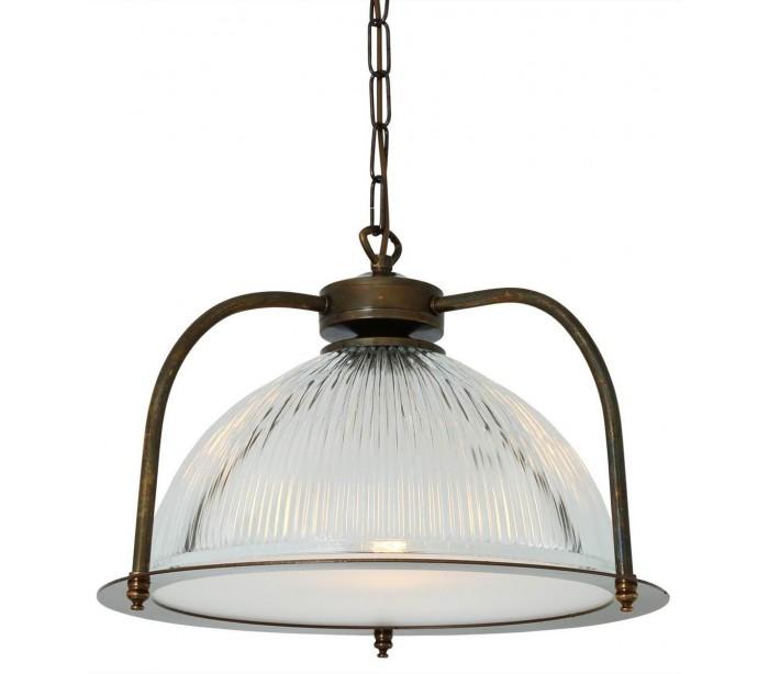 Bousta loftslampe ø35 cm 1 x e27 - antik messing fra mullan lighting fra lepong.dk