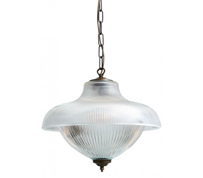 Essence loftslampe Ø40 cm 1 x E27 – Antik messing fra Mullan Lighting