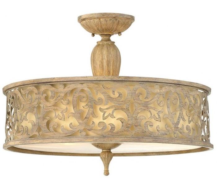 hinkley lighting – Carabel loftslampe ø52,1 cm 3 x e27 - børstet champagne fra lepong.dk