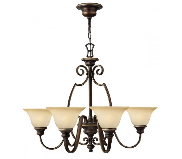 hinkley lighting Cello lysekrone ø80,6 cm 6 x e27 - antik bronze på lepong.dk