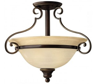 Cello Loftlampe Ø48,3 cm 2 x E27 - Antik bronze