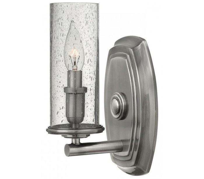 Dakota Væglampe H26,5 cm 1 x E14 – Poleret antik nikkel fra Hinkley Lighting