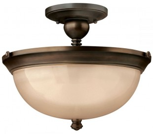 Mayflower Loftlampe Ø38,1 cm 3 x E27 - Aldret bronze/Rav