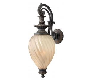 Montreal Væglampe H81,3 cm 3 x E14 - Aldret jern/Rav