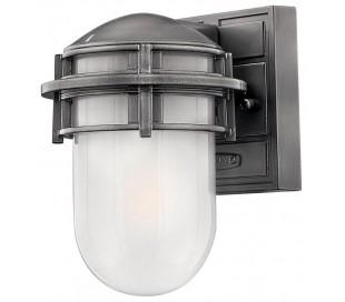 Reef Væglampe H20,3 cm 1 x E27 - Aluminium
