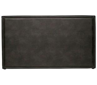 Sengegavl 177 x 100 cm i øko-læder - Vintage sort