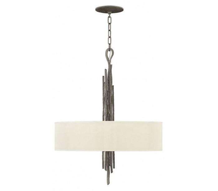 hinkley lighting Spyre loftlampe ø61 cm 6 x e14 - metallic mat bronze/beige fra lepong.dk