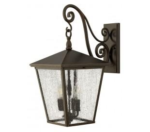 Trellis Væglampe H56,5 cm 4 x E14 - Rustik bronze