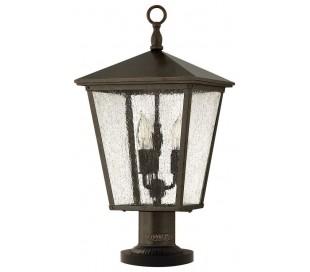 Trellis Halvmurslampe H58,4 cm 3 x E14 - Rustik bronze