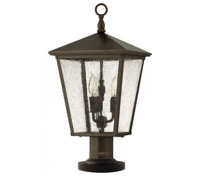 Trellis halvmurslampe h58,4 cm 3 x e14 - rustik bronze fra feiss lighting fra lepong.dk