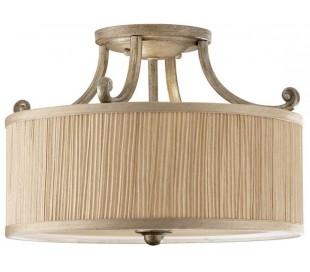 Abbey Loftlampe Ø35,6 cm 3 x E27 - Børstet sølv