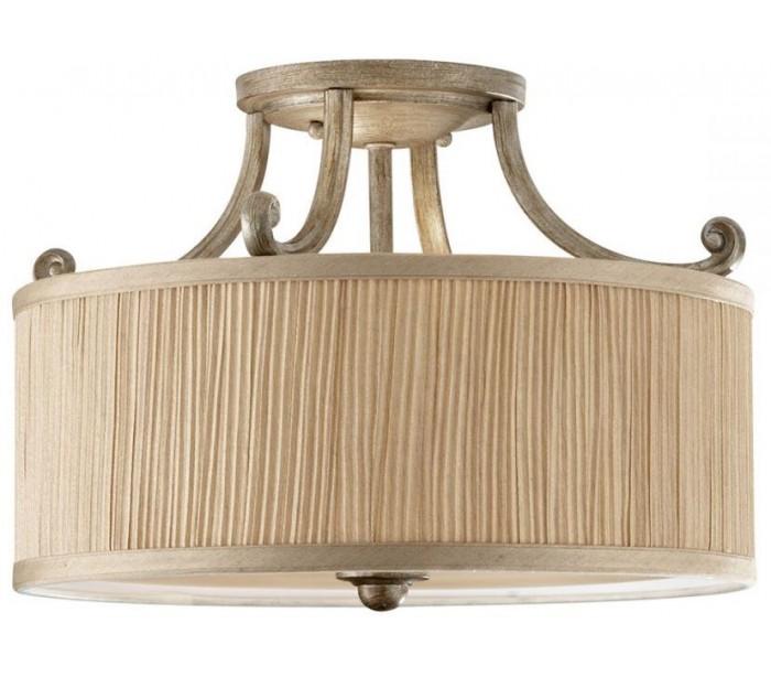 feiss lighting – Abbey loftlampe ø35,6 cm 3 x e27 - børstet sølv på lepong.dk