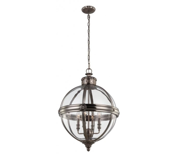 Image of   Adams Loftlampe Ø49,8 cm 4 x E14 - Antik nikkel