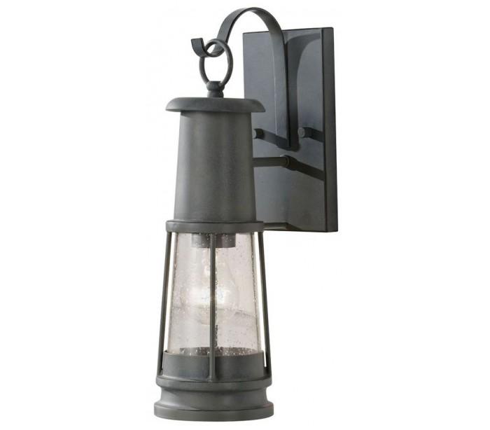 Chelsea væglampe h41,1 cm 1 x e27 - antik grå fra feiss lighting fra lepong.dk