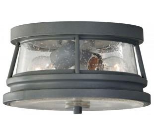 Chelsea Loftlampe Ø27,9 cm 2 x E27 - Antik grå