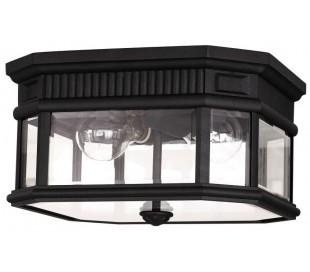 Cotswold Lane Loftlampe Ø29,2 cm 2 x E27 - Sort
