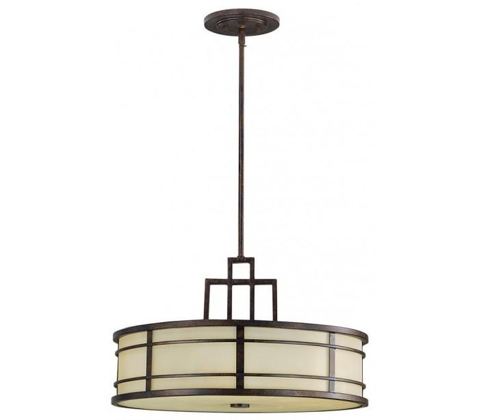 feiss lighting – Fusion loftlampe ø53,3 cm 3 x e27 - rustik bronze/rav på lepong.dk