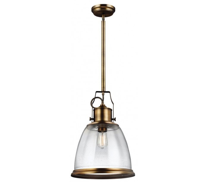 Image of   Hobson Loftlampe Ø35,5 cm 1 x E27 - Aldret messing