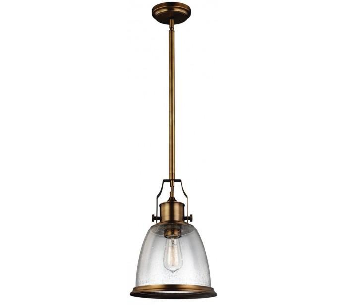 feiss lighting Hobson loftlampe ø24 cm 1 x e27 - aldret messing på lepong.dk