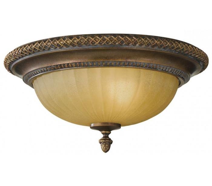 Image of   Kelham Hall Plafond Ø34,3 cm 2 x E27 - Antik guldbronze/Indie