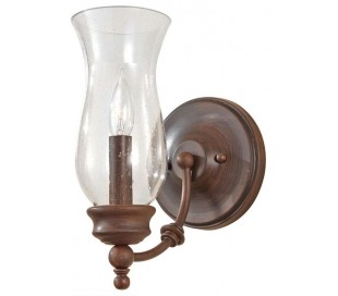 Pickering Lane Væglampe H26,3 cm 1 x E14 - Rustik bronze