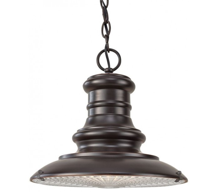 Image of   Redding Station Loftlampe Ø30,5 cm 1 x E27 - Rustik bronze
