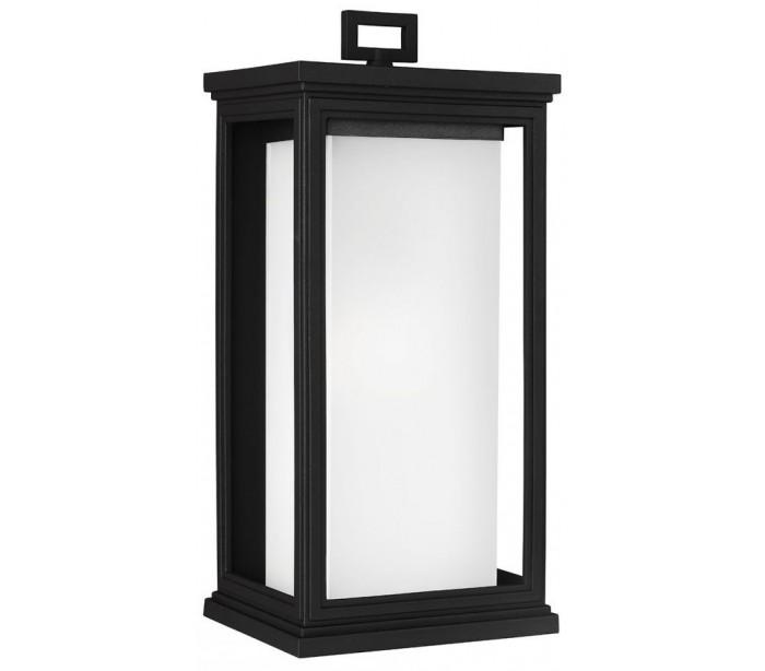 feiss lighting – Roscoe væglampe h46,1 cm 1 x e27 - sort fra lepong.dk