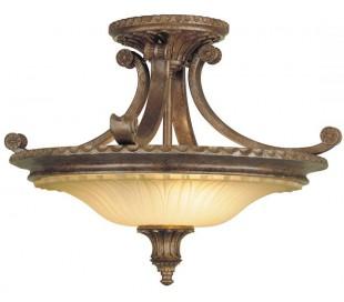 Stirling Castle Plafond Ø47,6 cm 2 x E27 - Rustik bronze