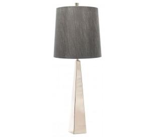 Ascent Bordlampe H79 cm 1 x E27 - Poleret nikkel/Grå