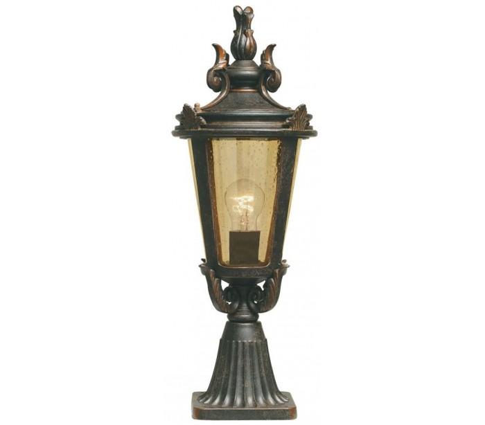 Image of   Baltimore Halvmurslampe H56 cm 1 x E27 - Patineret bronze